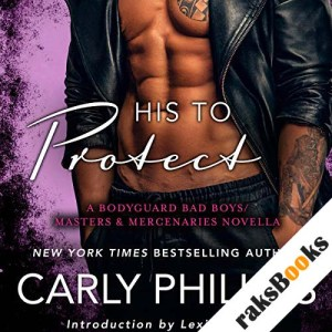 His to Protect audiobook cover art