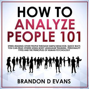 How to Analyze People 101 audiobook cover art