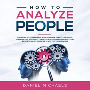 How to Analyze People audiobook cover art