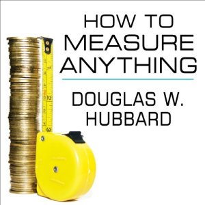 How to Measure Anything audiobook cover art