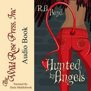 Hunted by Angels  audiobook cover art