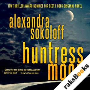 Huntress Moon audiobook cover art