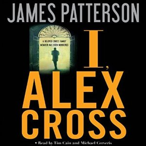 I, Alex Cross audiobook cover art