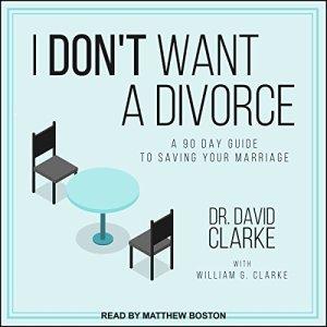 I Don't Want a Divorce audiobook cover art