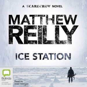 Ice Station audiobook cover art