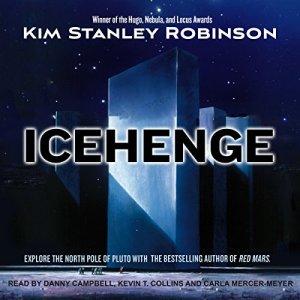Icehenge audiobook cover art