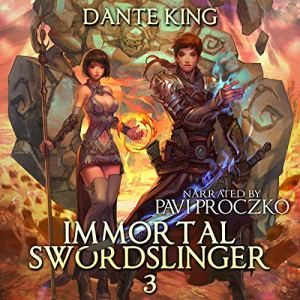 Immortal Swordslinger 3 audiobook cover art