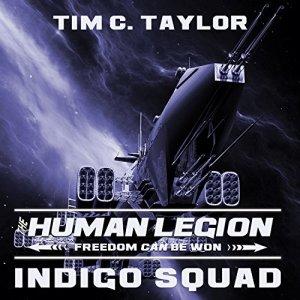 Indigo Squad audiobook cover art