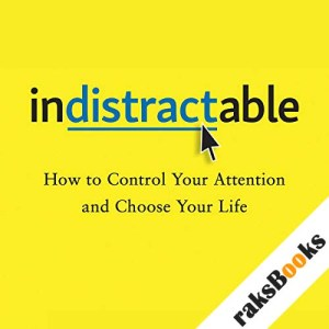 Indistractable audiobook cover art