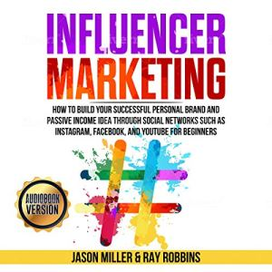Influencer Marketing audiobook cover art
