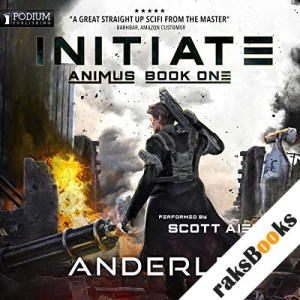 Initiate audiobook cover art