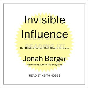 Invisible Influence audiobook cover art