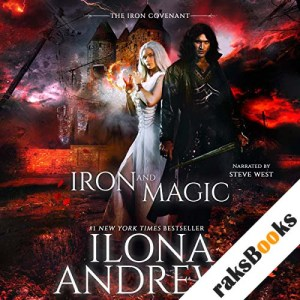 Iron and Magic audiobook cover art