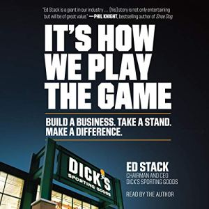 It's How We Play the Game audiobook cover art