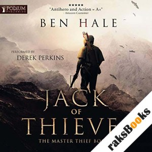 Jack of Thieves audiobook cover art