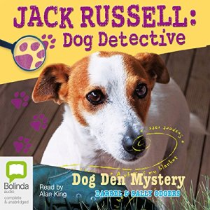Jack Russell, Dog Detective audiobook cover art