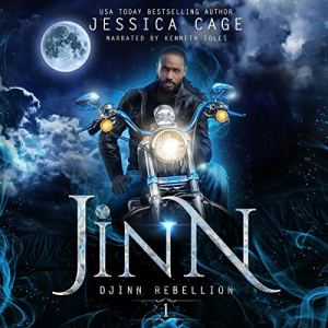 Jinn audiobook cover art