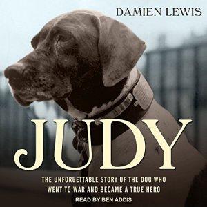 Judy audiobook cover art