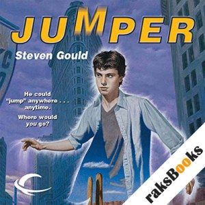 Jumper audiobook cover art