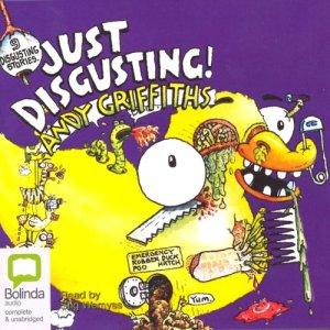 Just Disgusting audiobook cover art