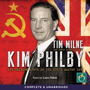 Kim Philby audiobook cover art