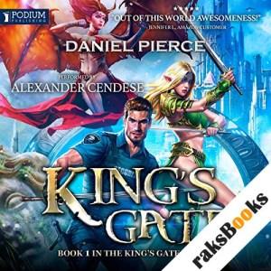 King's Gate audiobook cover art
