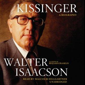 Kissinger audiobook cover art