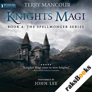 Knights Magi audiobook cover art