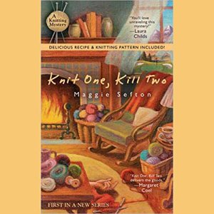 Knit One, Kill Two audiobook cover art