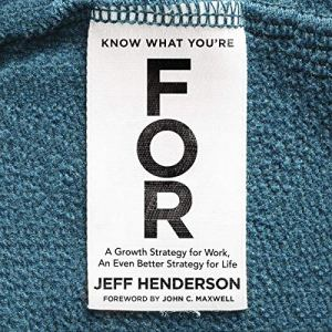 Know What You're For audiobook cover art