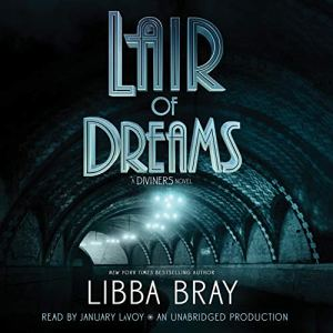 Lair of Dreams audiobook cover art