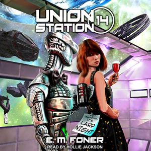 LARP Night on Union Station audiobook cover art