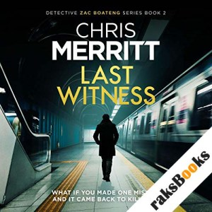 Last Witness audiobook cover art