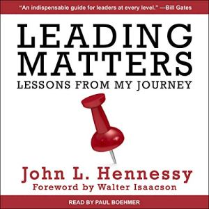 Leading Matters audiobook cover art