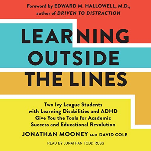 Learning Outside the Lines audiobook cover art