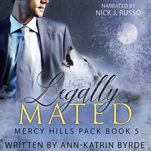 Legally Mated (MM Gay Mpreg Romance) audiobook cover art