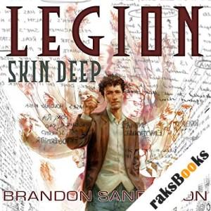 Legion: Skin Deep audiobook cover art