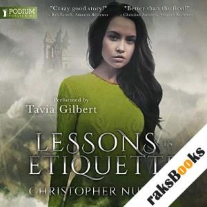 Lessons in Etiquette audiobook cover art