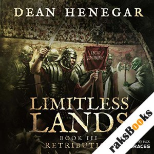 Limitless Lands, Book III: Retribution audiobook cover art