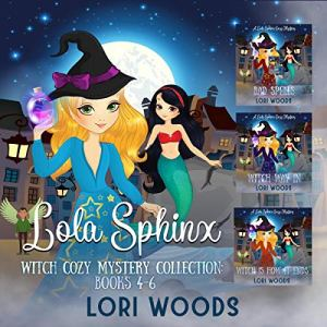 Lola Sphinx audiobook cover art