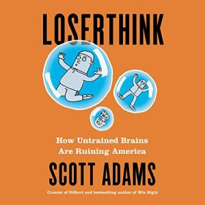 Loserthink audiobook cover art