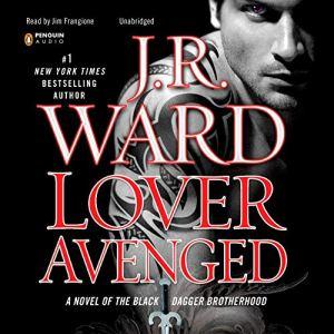 Lover Avenged audiobook cover art