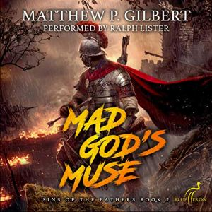 Mad God's Muse audiobook cover art