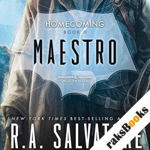 Maestro audiobook cover art