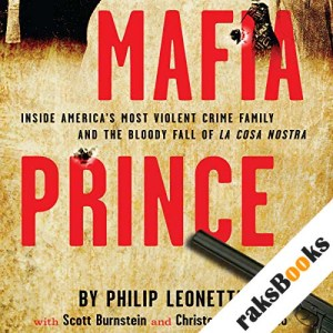 Mafia Prince audiobook cover art
