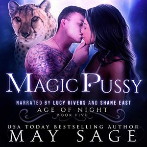 Magic Pussy audiobook cover art