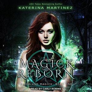 Magick Reborn audiobook cover art