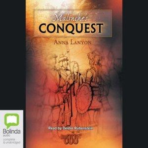 Malinche's Conquest audiobook cover art
