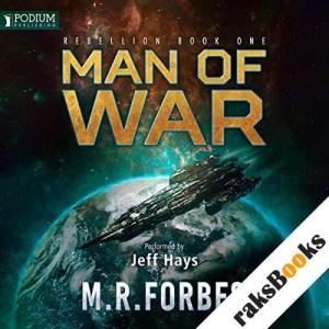 Man of War audiobook cover art