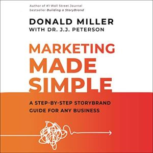 Marketing Made Simple audiobook cover art